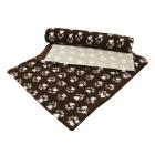 Dry Bed Nonslip Czekolada/Białe Łapki 75x100