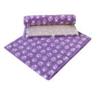 Dry Bed Nonslip Fiolet/Białe Łapki 50x75