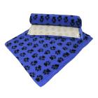 Dry Bed Nonslip Niebieski/Czarne Łapki 50x75
