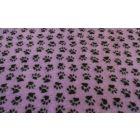 Dry Bed Nonslip Fiolet/Czarne Łapki 50x75