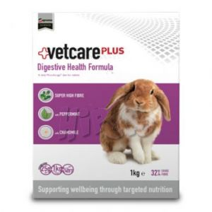 VetCare+ Digestive Health Formula 1kg-Karma dla Królików z Problemami Gastrycznymi
