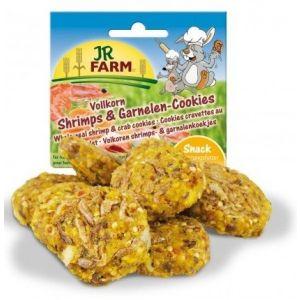 JR Farm Pełnoziarniste Ciasteczka z Krewetkami 80g