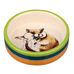 Trixie Miska Ceramiczna z Motywem Chomika 80ml (60801)