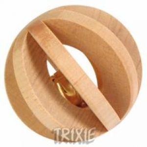 Trixie Drewniana Piłka z Dzwonkiem (6187)