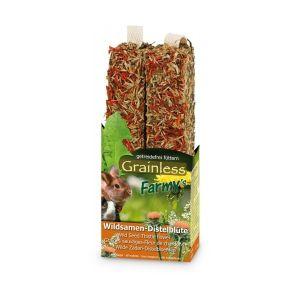 JR Farm Grainless Kolba Kwiat Ostu-Nasiona dzikich traw