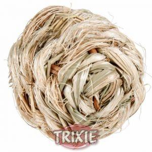 Trixie Piłka z Trawy z Dzwonkiem 6cm (61821)