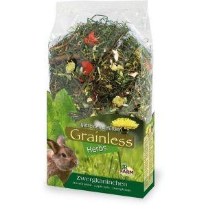JR Farm Grainless Herbs 400g Królik