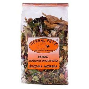 Herbal Pets Karma Ziołowo-Warzywna dla Świnki Morskiej 150g